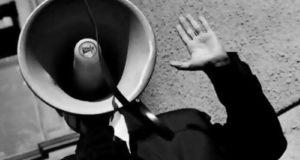 "В Стерлитамаке на площади ДК ""Сода"" митинг против пенсионного возраста"