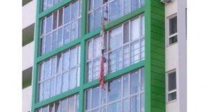 В Уфе разбился мужчина спускавшийся по самодельному канату