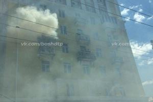 Photo of В Уфе горела квартира на 4 этаже