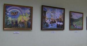 В столице Башкирии открылась выставка репродукций картин Бориса Кустодиева