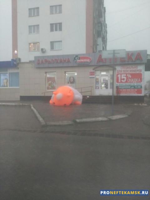 Photo of В Нефтекамске разбушевалась стихия