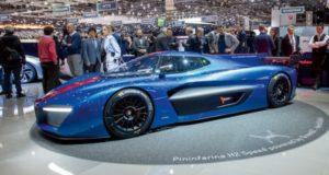 Авто гиперкар Pininfarina развивает скорость до 400 км/ч