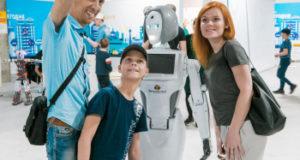 В Стерлитамаке гостит одна из самых умных женщин-роботов