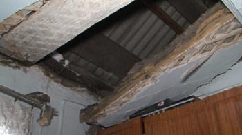 В Башкирии на 5-летнюю девочку обрушился потолок