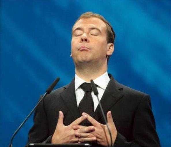 Медведев пропал куда то