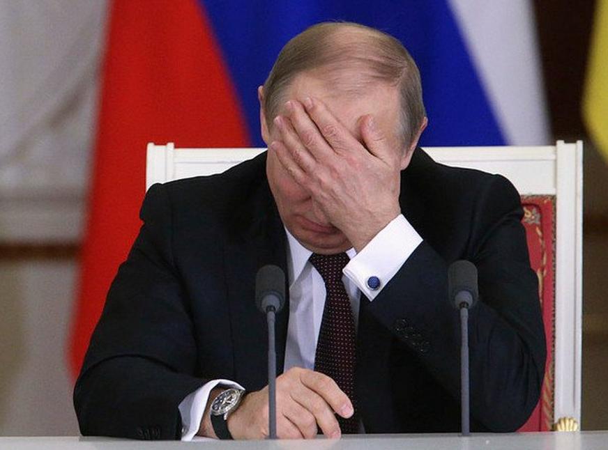 Путин за голову