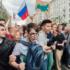 Молодежь протестует