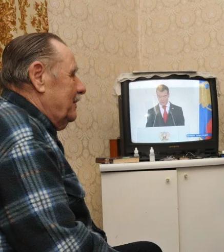 Пенсионер и ТВ