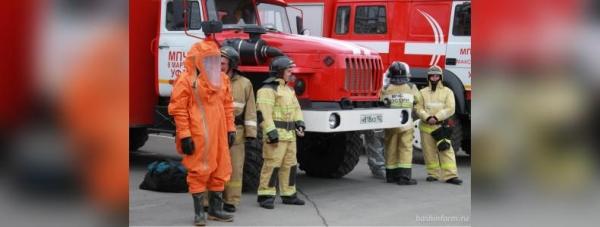 Photo of В Уфе у Дворца молодежи БГАУ заметили десяток пожарных машин — видео