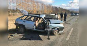 В Башкирии водитель «девятки» погиб, выехав на встречную полосу