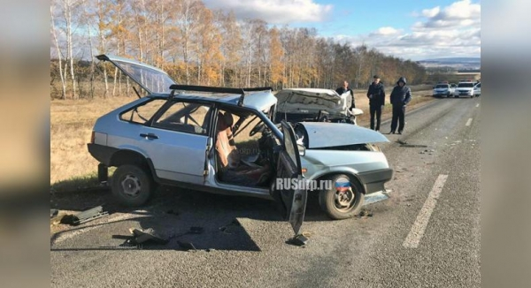 Photo of В Башкирии водитель «девятки» погиб, выехав на встречную полосу