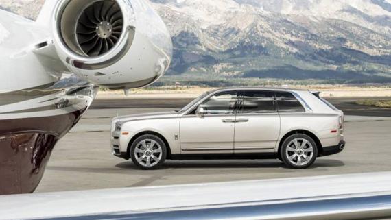 Rolls-Royce Cullinan первый обзор: Вид убеждает