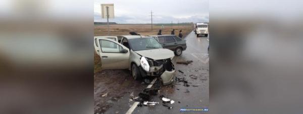 Photo of В Дюртюлинском районе столкнулись три легковушки