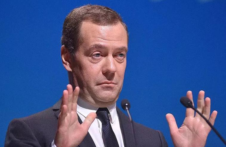 Медведев правление