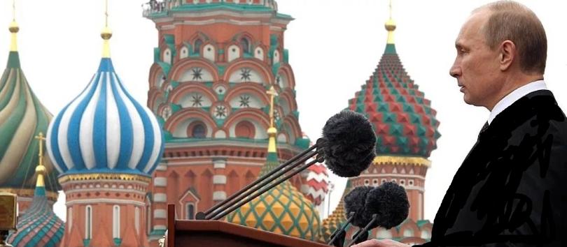 Путин у кремля