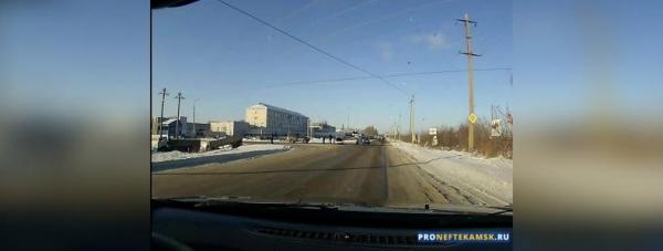 Photo of В Нефтекамске ДТП на перекрестке Магистральная — Автозаводская