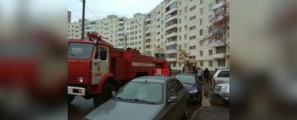 Photo of В Уфе из-за пожара в многоэтажке эвакуировали 18 человек, двое получили ожоги рук