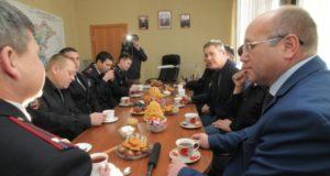 Радий Хабиров поздравил сотрудников Мечетлинского РОВД с профессиональным праздником