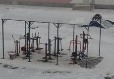 Новая спортивная площадка Дворца пионеров