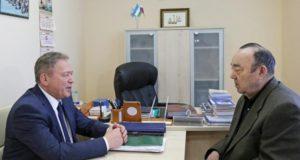 Уфимский градоначальник встретился с первым президентом Башкирии Муртазой Рахимовым