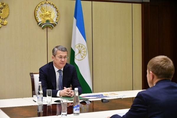 Photo of Радий Хабиров встретился с президентом «Опоры России» Александром Калининым