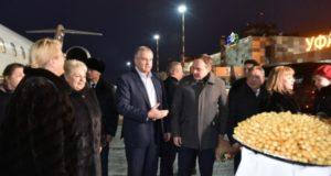 В Уфу прибыла представительная делегация Республики Крым во главе с Сергеем Аксеновым