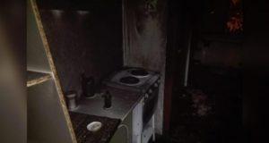 В Башкирии сгорела однокомнатная квартира, эвакуировали десять человек