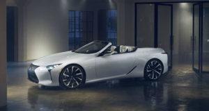 Кабриолет Lexus LC пока лишь концепт... но так было и с купе LC