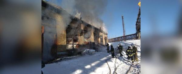 Photo of В Уфе в промзоне произошел пожар