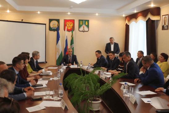 Исполнять обязанности главы Краснокамского района Башкирии будет Рустам Мусин0