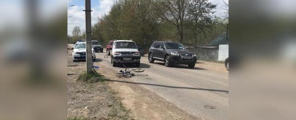 В Уфе сбили первоклассника и пенсионера на велосипедах: Мальчик сильно пострадал0