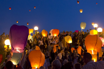 Воздушные шары и небесные фонарики вредны  для окружающей среды0