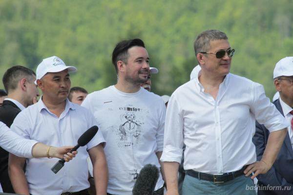 Радий Хабиров поздравил жителей Бурзянского района с праздником сабантуя8