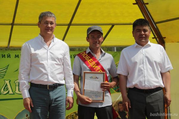 Радий Хабиров поздравил жителей Бурзянского района с праздником сабантуя6