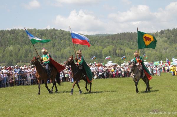 Радий Хабиров поздравил жителей Бурзянского района с праздником сабантуя2