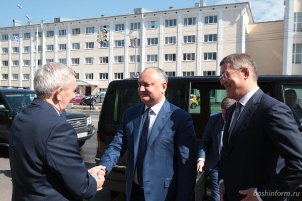 Славянский университет Молдовы и БашГУ прорабатывают вопрос по обмену студентами1