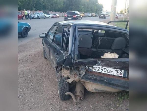 В Стерлитамаке пьяный водитель протаранил два авто: три человека пострадали1