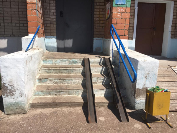 Активисты ОНФ призвали власти Стерлитамака установить пандус в доме, где живет инвалид1