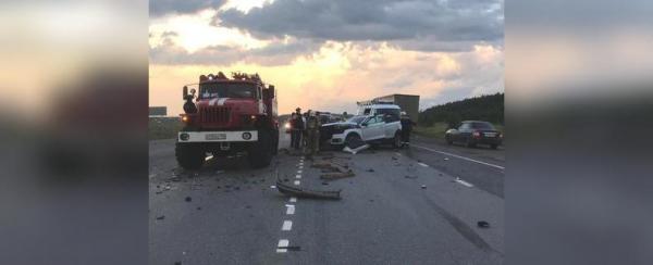 Photo of Появились подробности массовой аварии под Уфой, где девушку зажало в искореженной машине