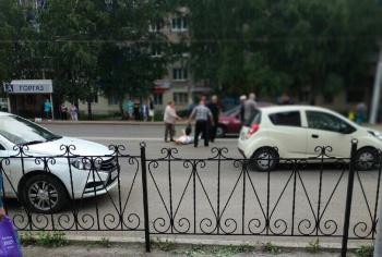 В Стерлитамаке на пешеходном переходе сбили девушку0