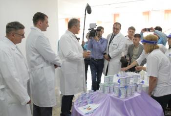 В Стерлитамаке состоялось торжественное открытие молочной кухни0