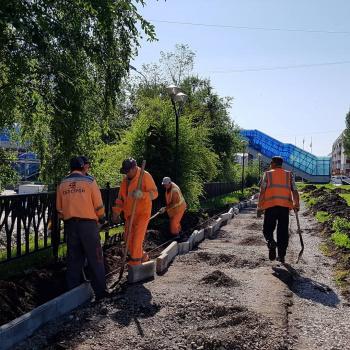 В Стерлитамаке заасфальтируют тротуар по улице Худайбердина0