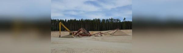 В Стерлитамакском районе предприниматель незаконно добыл песчано-гравийную смесь на 30 миллионов рублей0