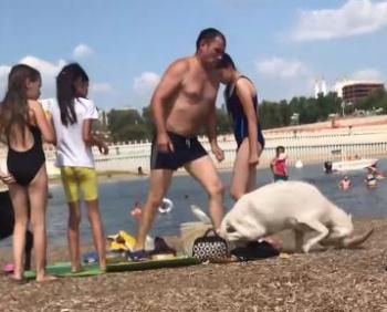 Photo of Видео: житель Башкирии с большой силой пнул козленка на глазах у детей