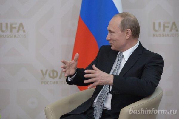 Владимир Путин рассказал иностранным журналистам о реализации планов по развитию страны0