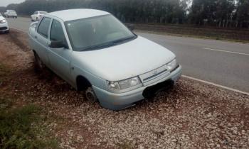 Photo of Угнанное авто у жителя Стерлитамака нашли на трассе между Салаватом с пробитым колесом