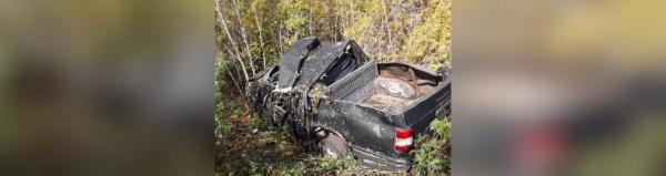 Под Стерлитамаком в перевернувшемся авто погиб водитель, двое пострадали0