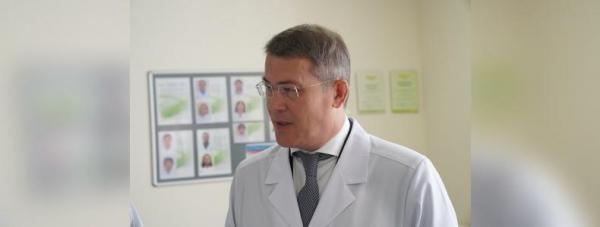 Радий Хабиров провёл выездной «Здравчас» в уфимской горбольнице № 132