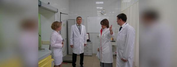 Радий Хабиров провёл выездной «Здравчас» в уфимской горбольнице № 131