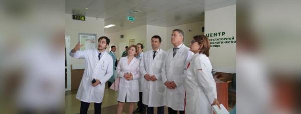 Радий Хабиров провёл выездной «Здравчас» в уфимской горбольнице № 136